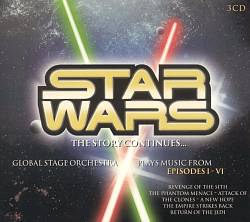 John Williams - Star Wars: The Story Continues... CD (album) cover