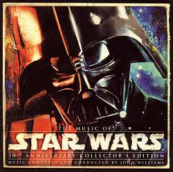 John Williams - The Music Of Star Wars: 30th Anniversary Collection CD (album) cover