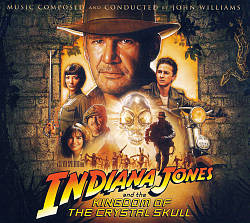 John Williams - Indiana Jones And The Kingdom Of The Crystal Skull CD (album) cover