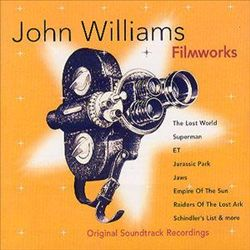 John Williams - Filmworks CD (album) cover