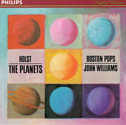 John Williams - Holst: The Planets CD (album) cover