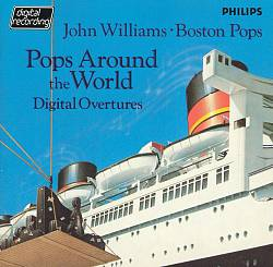 John Williams - Pops Around The World: Digital Overtures CD (album) cover