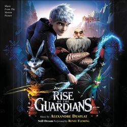 ALEXANDRE DESPLAT - Rise Of The Guardians CD album cover