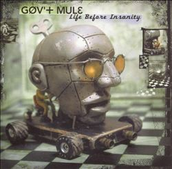 GOV'T MULE - Life Before Insanity CD album cover