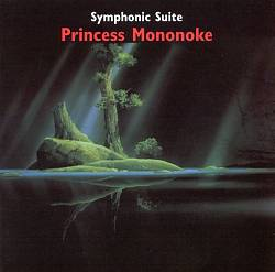 JOE HISAISHI - Princess Mononoke: Symphonic Suite CD album cover