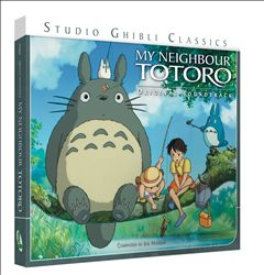 JOE HISAISHI - My Neighbour Totoro CD album cover
