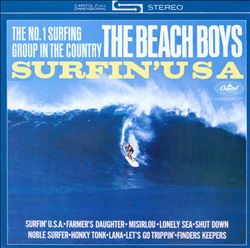 The Beach Boys - Surfin' Usa CD (album) cover