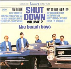 The Beach Boys - Shut Down, Vol. 2 CD (album) cover