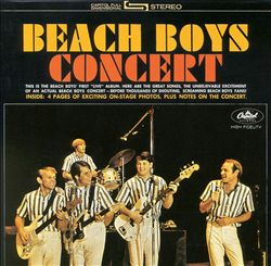 THE BEACH BOYS - Concert CD album cover