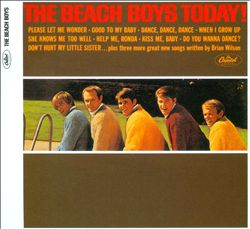The Beach Boys - Today! CD (album) cover