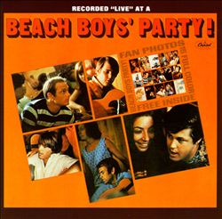 The Beach Boys - Beach Boys' Party! CD (album) cover