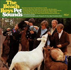 The Beach Boys - Pet Sounds CD (album) cover