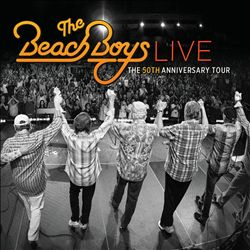 The Beach Boys - Live: The 50th Anniversary Tour CD (album) cover
