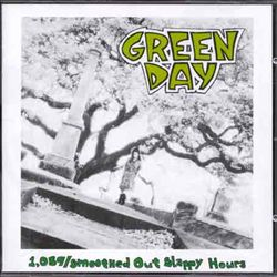 GREEN DAY - 1,039/smoothed Out Slappy Hours CD album cover