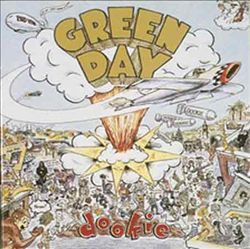 GREEN DAY - Dookie CD album cover
