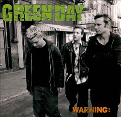 GREEN DAY - Warning CD album cover