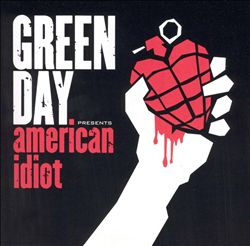 Green Day - American Idiot CD (album) cover
