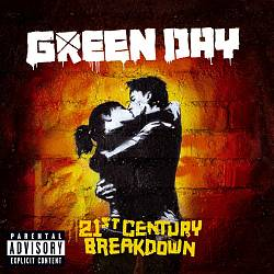 Green Day - 21st Century Breakdown CD (album) cover