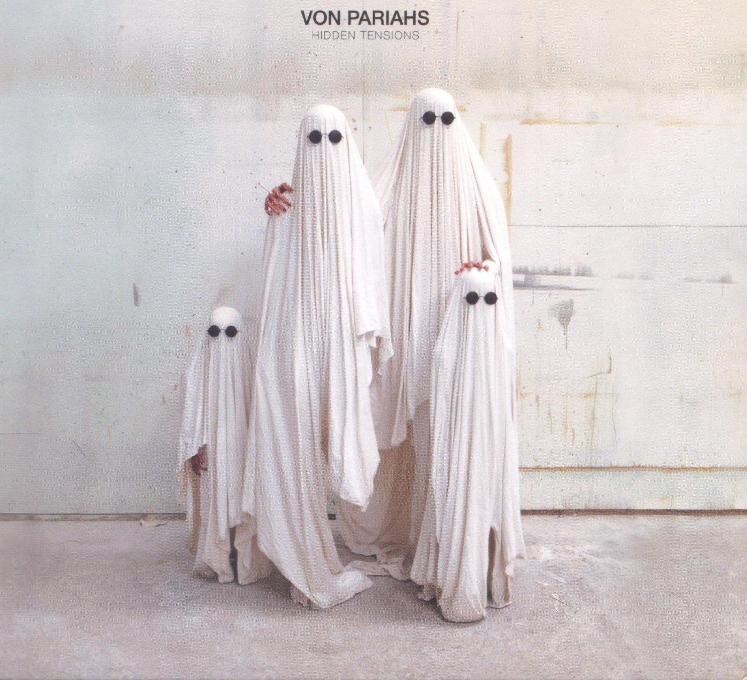 Von Pariah - Hidden Tensions CD (album) cover