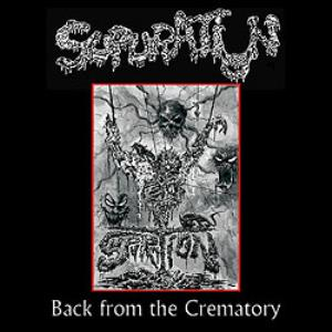 SUPURATION - Back From The Crematory CD album cover