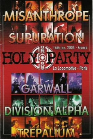 SUPURATION - The Holy Party CD (album) cover