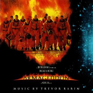 Trevor Rabin - Armageddon (original Motion Picture Score) CD (album) cover