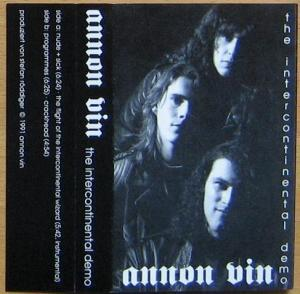 Annon Vin - The Intercontinental Demo CD (album) cover
