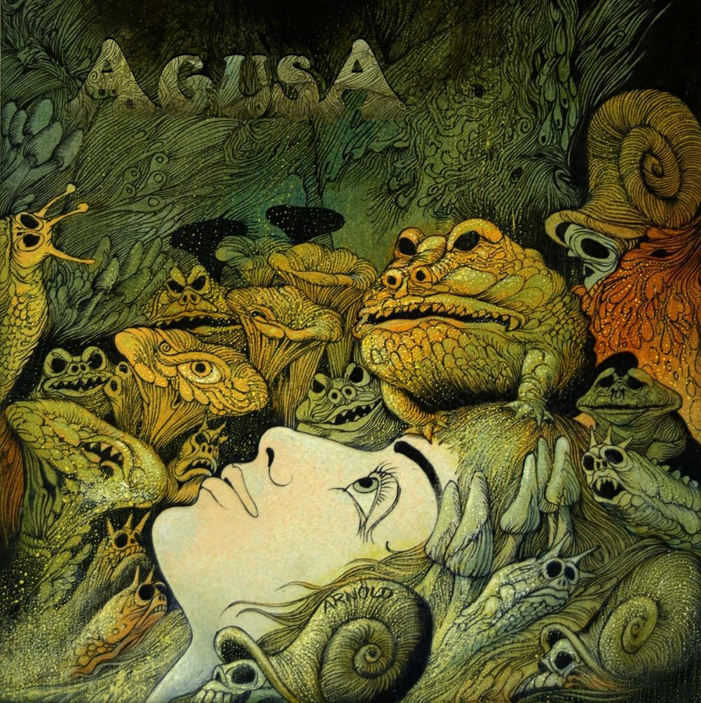 AGUSA - Agusa CD album cover