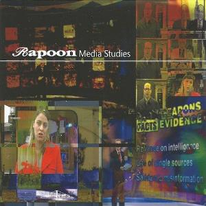 Rapoon - Media Studies CD (album) cover