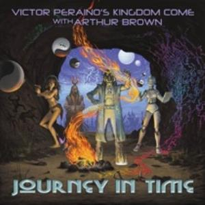 Victor Peraino's Kingdom Come - Journey In Time CD (album) cover