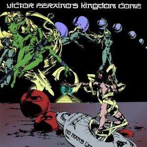 Victor Peraino's Kingdom Come - No Man's Land CD (album) cover