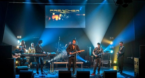 PREACHER image groupe band picture