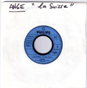 Ange - La Suisse CD (album) cover