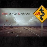 RUSH - Snakes And Arrows Live CD album cover