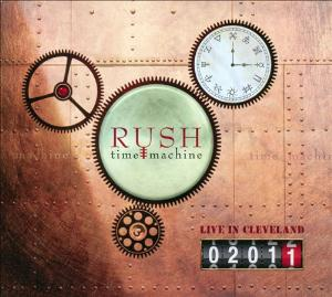 RUSH - Time Machine 2011: Live In Cleveland CD album cover