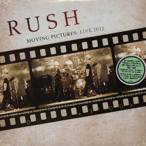 Rush - Moving Pictures: Live 2011 CD (album) cover