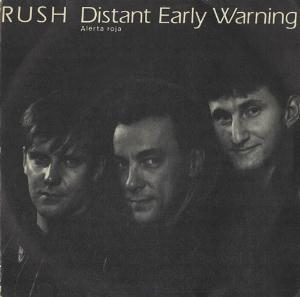 Rush - Distant Early Warning CD (album) cover
