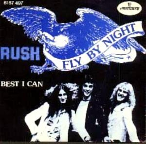 Rush - Fly By Night CD (album) cover