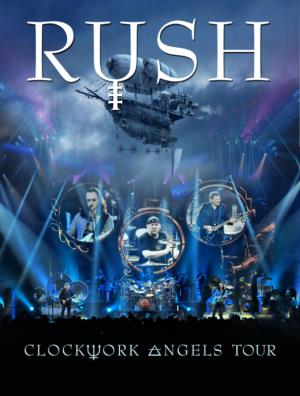 Rush - Clockwork Angels Tour DVD (album) cover