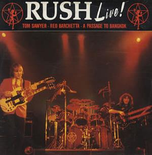 Rush - Tom Sawyer / A Passage To Bangkok / Red Barchetta CD (album) cover