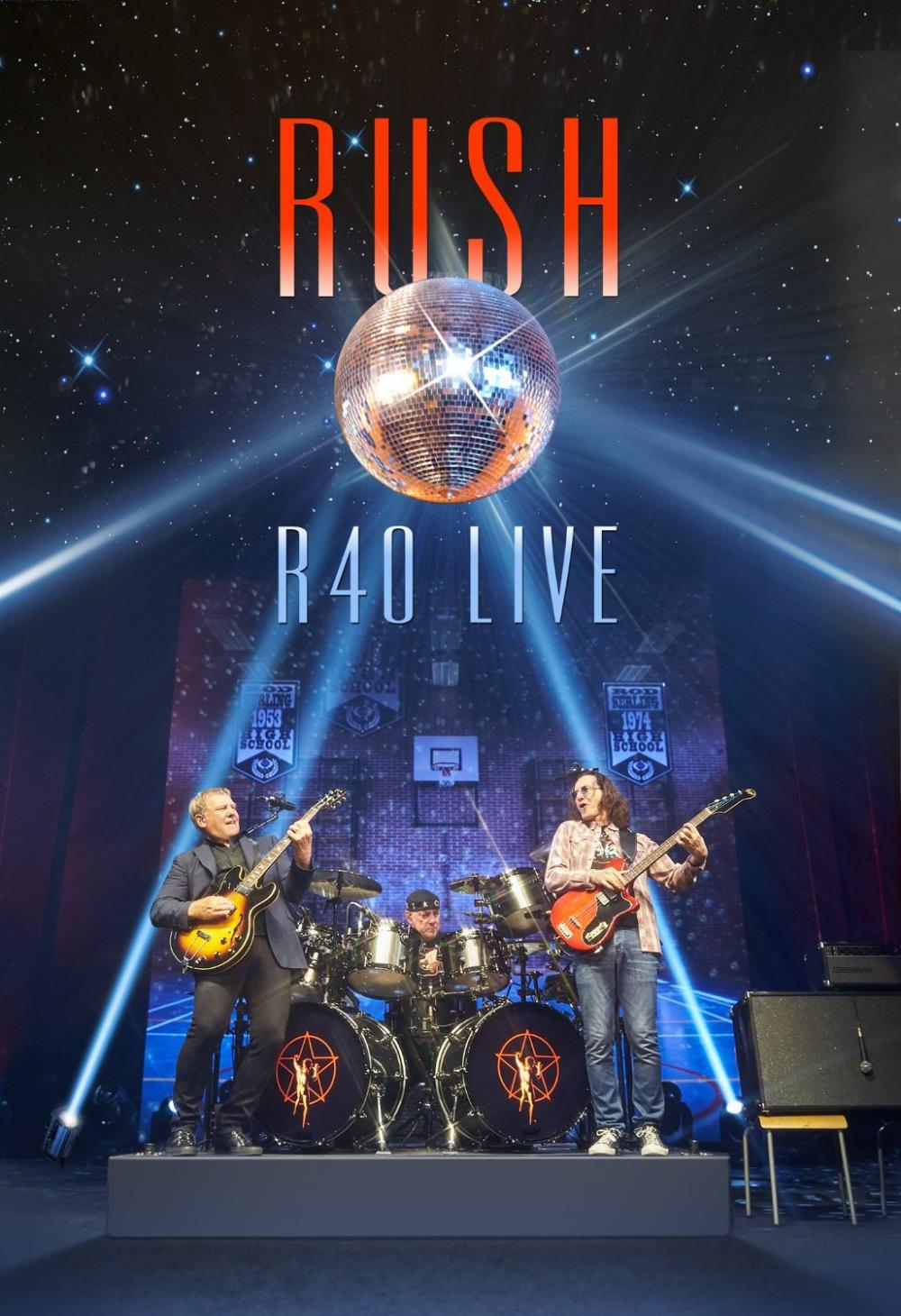 Rush - R40 Live DVD (album) cover