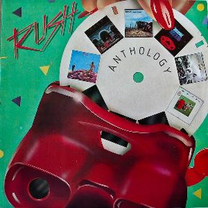 Rush - Anthology CD (album) cover