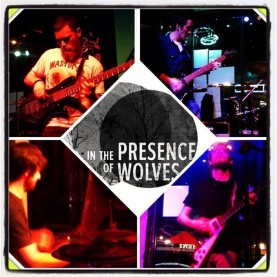 IN THE PRESENCE OF WOLVES image groupe band picture