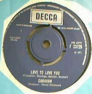 Caravan - Love To Love You CD (album) cover