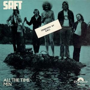 Saft - All The Time / Min CD (album) cover