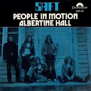 Saft - People In Motion / Albertine Hall CD (album) cover