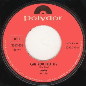 Saft - Can You Feel It? / Working Man CD (album) cover