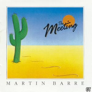 Martin Barre - The Meeting CD (album) cover