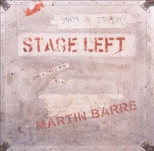 Martin Barre - Stage Left CD (album) cover