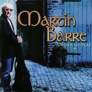 Martin Barre - Order Of Play CD (album) cover